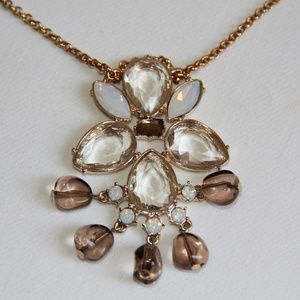 Jewelry - J Crew Gold-Tone Crystal Pendant Necklace